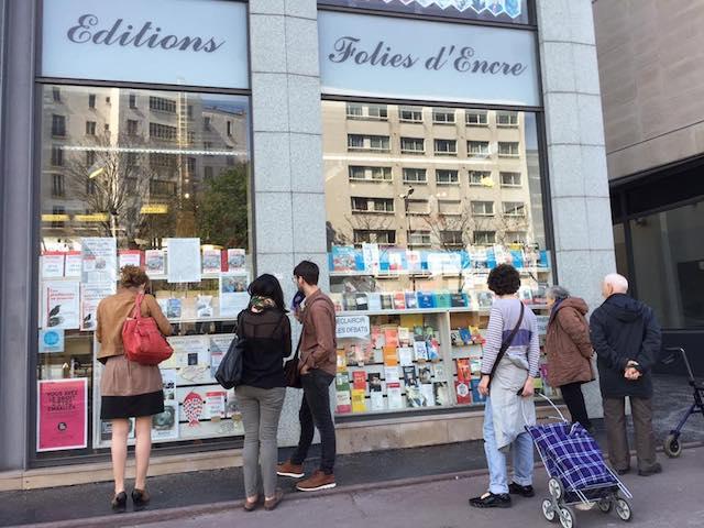Librairie Folies d'encre à Montreuil / © Nicolas Moulard
