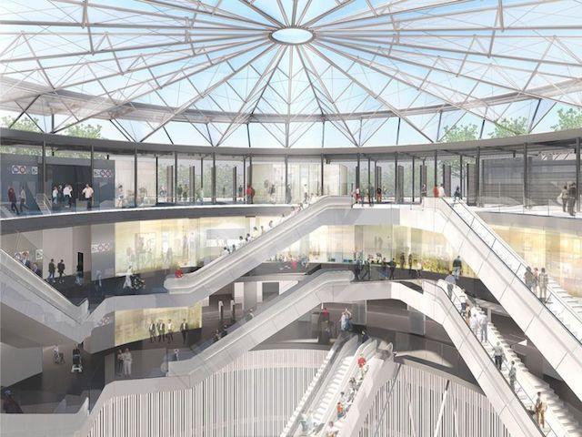 Gare de Villejuif - Institut Gustave Roussy / / © Société du Grand Paris - Dominique Perrault Architecture