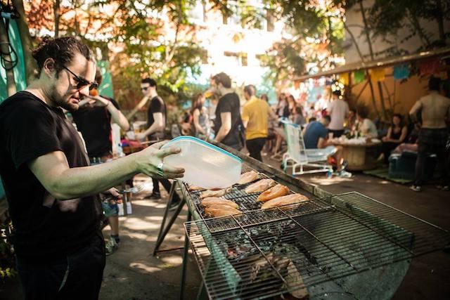 Open barbecue à la Halle Papin à Pantin / DR