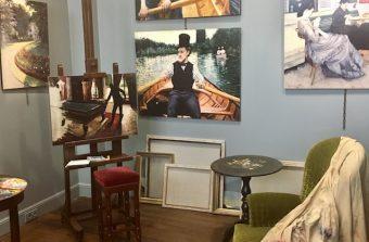 UNE EXPO / UN RESTO :  La maison de peintre et le chalet gastro à Yerres