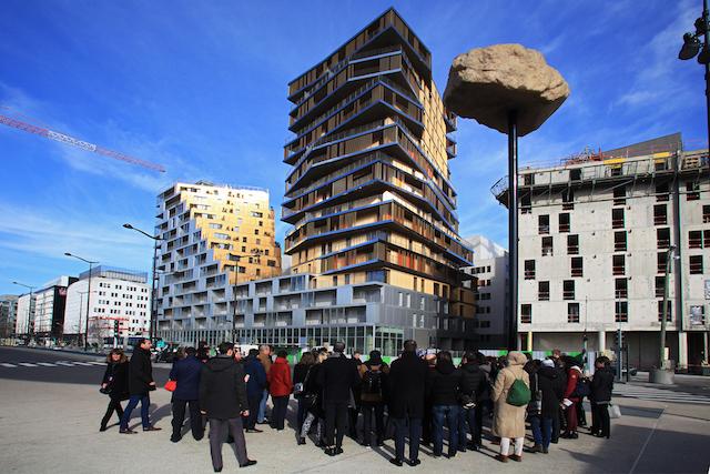 Balade à Paris avec l'association Promenades Urbaines / © Pavillon de l'Arsenal