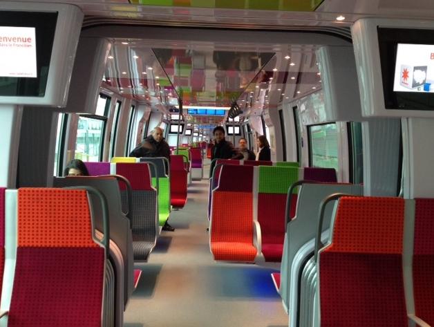 Train francilien / DR