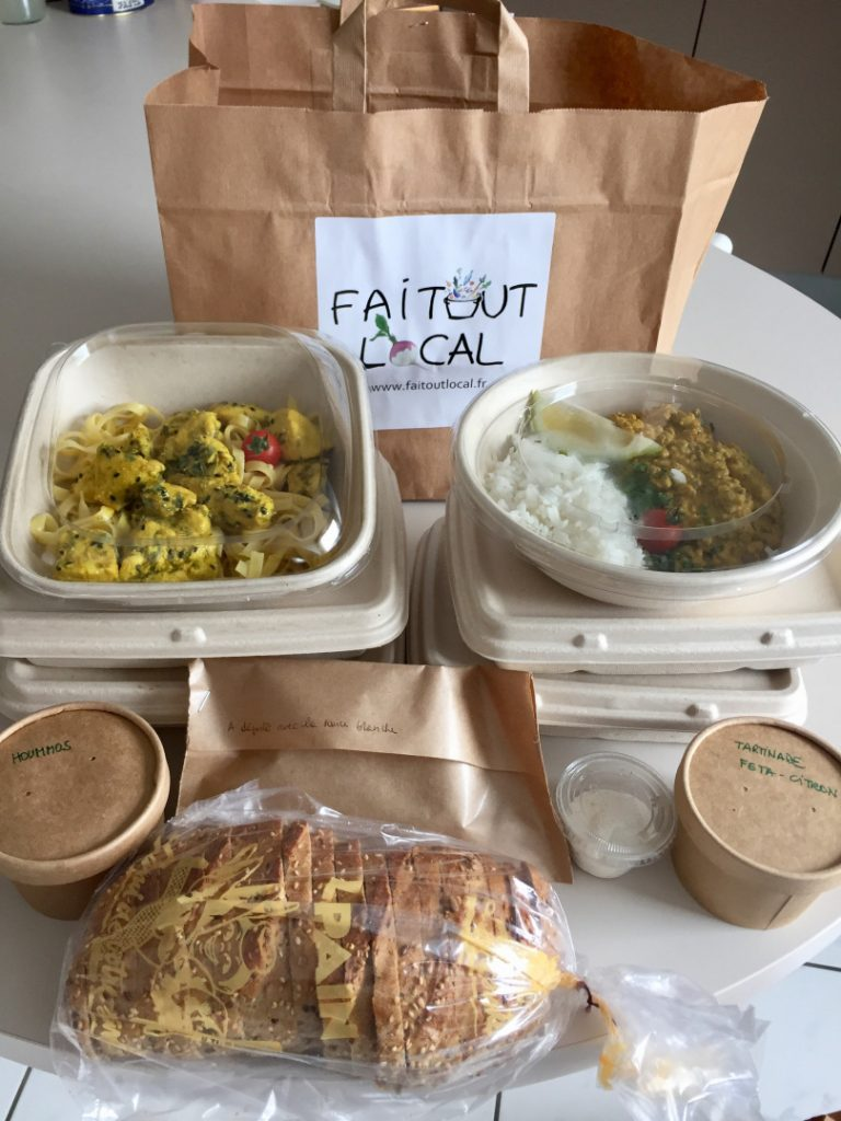 Faitoutlocal, service de plats faits maison dans le Val-d'Oise / © Plus on est de Food Plus on Rit