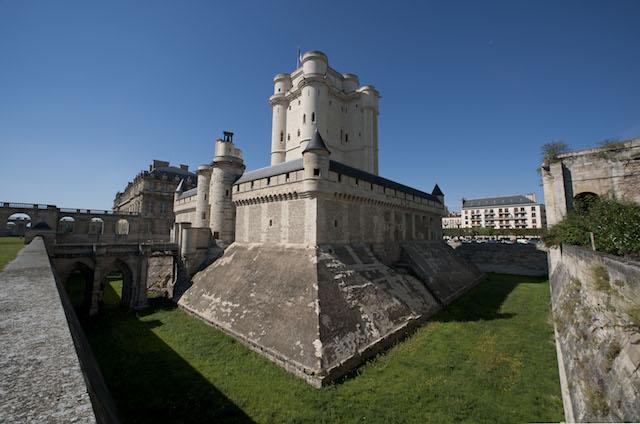 Le donjon du château de Vincennes / © P. Cadet - Centre des monuments nationaux