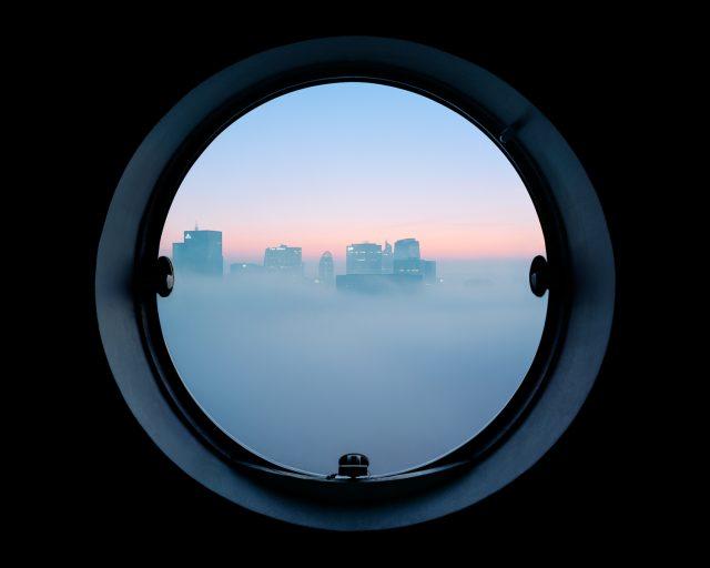"""""""Les yeux des tours"""", série photo de Laurent Kronental dans les tours Aillaud à Nanterre / © Laurent Kronental"""