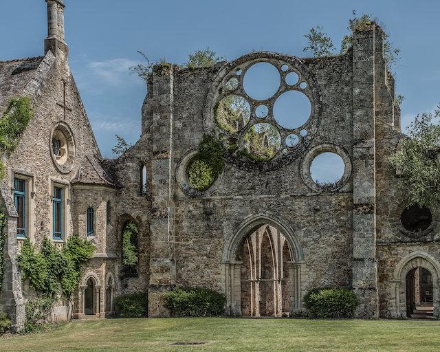 Abbaye des Vaux-de-Cernay - L'Océan Vert / © Jean-Fabien Leclanche pour Enlarge Your Paris