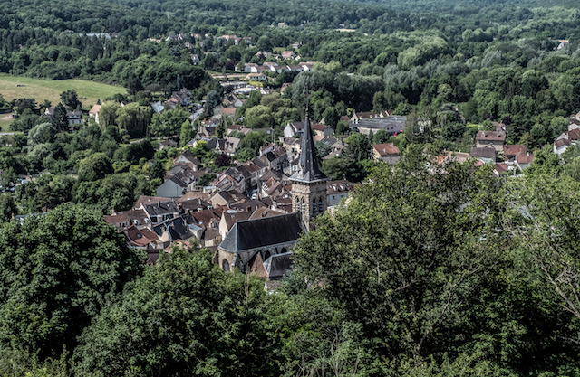 Le village de Chevreuse en Haute Vallée de Chevreuse / © Jean-Fabien Leclanche pour Enlarge Your Paris