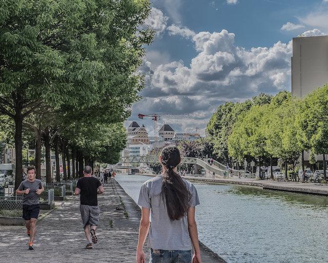 Le canal de l'Ourcq à Pantin - La Fabrique / © Jean-Fabien Leclanche pour Enlarge Your Paris