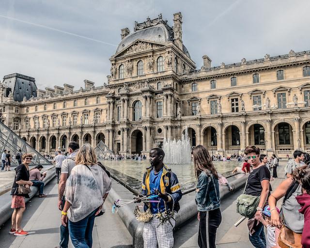 Le Louvre - L'HyperMuseum / © Jean-Fabien Leclanche pour Enlarge Your Paris