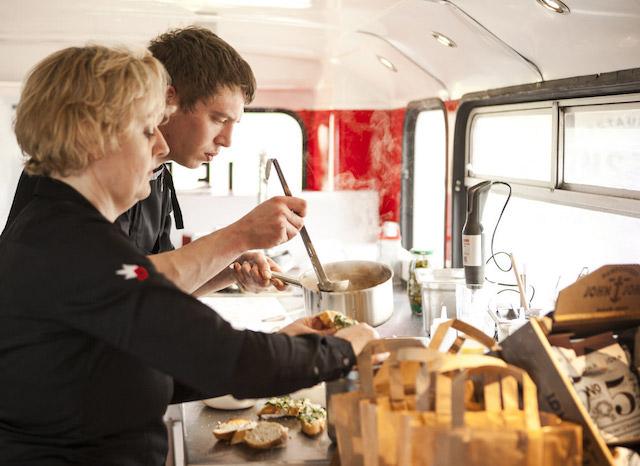 Les cuisines du Bus rouge / DR