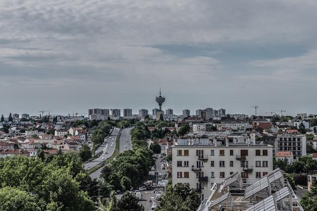 La tour télé de Romainville vue depuis Montreuil - La Fabrique / © Jean-Fabien Leclanche pour Enlarge Your Paris
