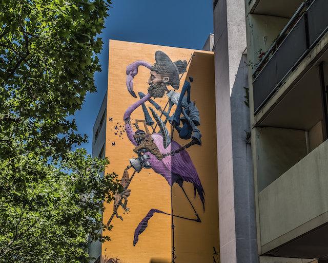 La galerie en plein air Street Art 13 dans le 13e arrondissement - La Street Galerie / © Jean-Fabien Leclanche pour Enlarge your Paris