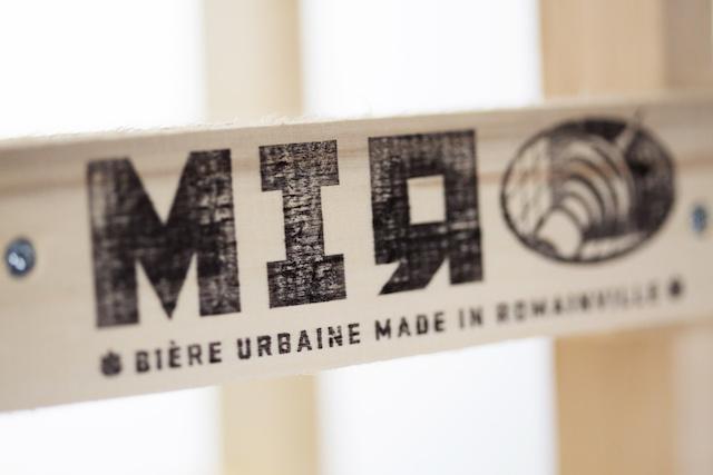 Logo de la bière MIЯ à Romainville / © MIЯ
