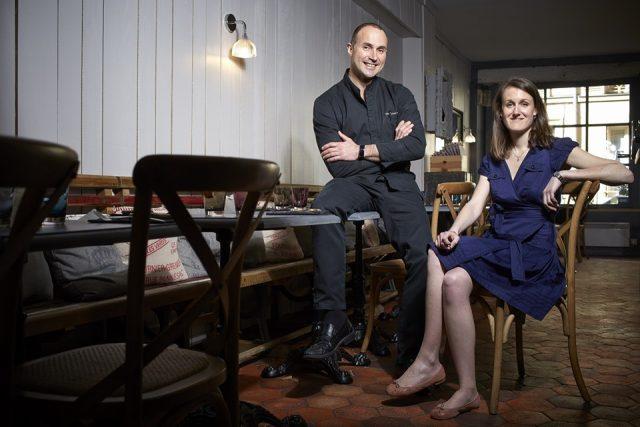 Stéphanie et Stéphane, les deux Stéph de chez Stefs à Versailles / DR