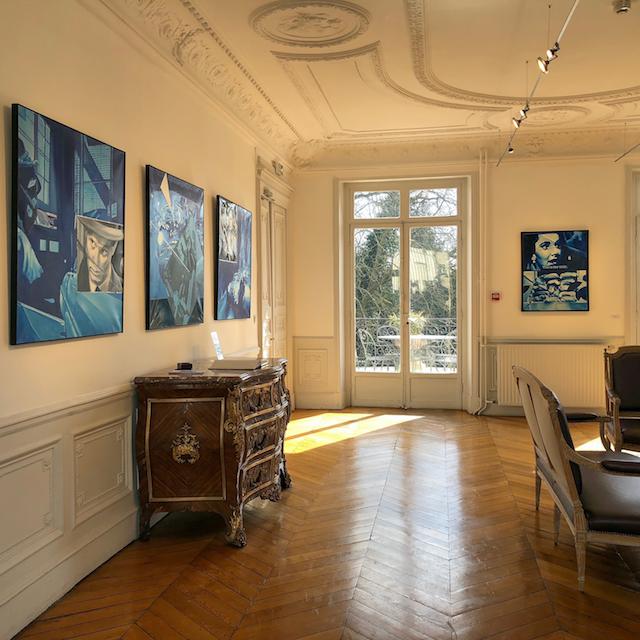 """Exposition """"Viens me voir"""" de René Monory à Nogent /  © Jean-Fabien Leclanche pour Enlarge your Paris"""