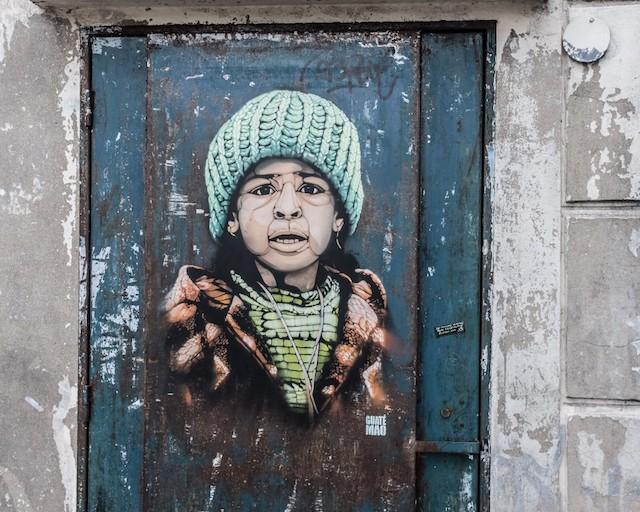 Oeuvre de Guaté Mao /  Jean-Fabien Leclanche pour Enlarge your Paris