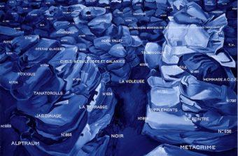 Jacques Monory peint en bleu le noir des polars