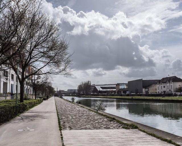 Le canal Saint-Denis / © Jean-Fabien Leclanche pour Enlarge your Paris