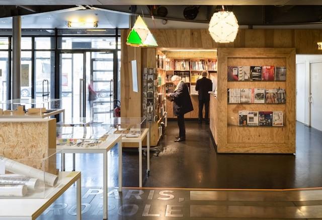Librairie du Pavillon de l'Arsenal à Paris / DR