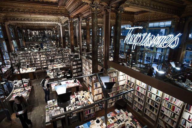 Librairie Tropismes à Bruxelles / DR