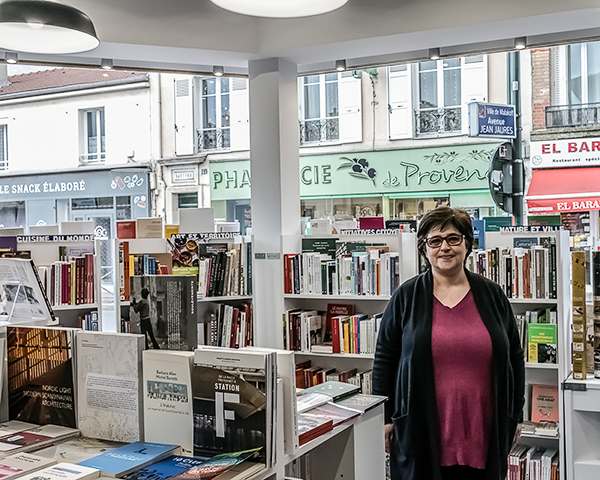 Librairie Zenobi à Malakoff / ©  Jean-Fabien Leclanche pour Enlarge your Paris