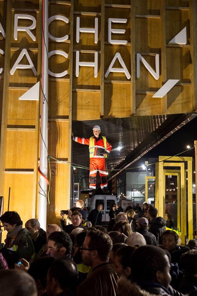 Fête de chantier du Grand Paris Express sur le site d'Arcueil-Cachan / © Société du Grand Paris