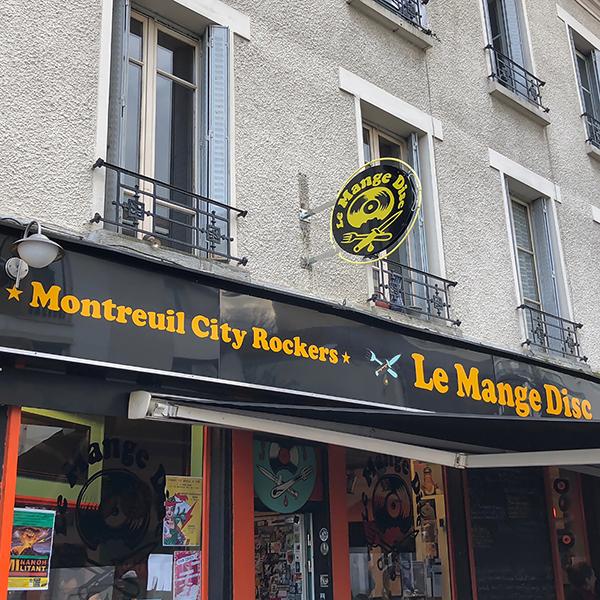 Le Mange Disc à Montreuil