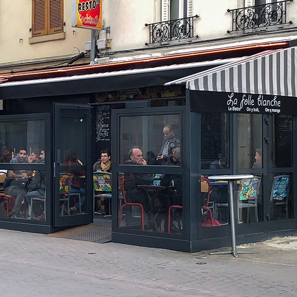 La Folle Blanche à Montreuil