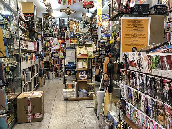 La librairie Impressions à Enghien
