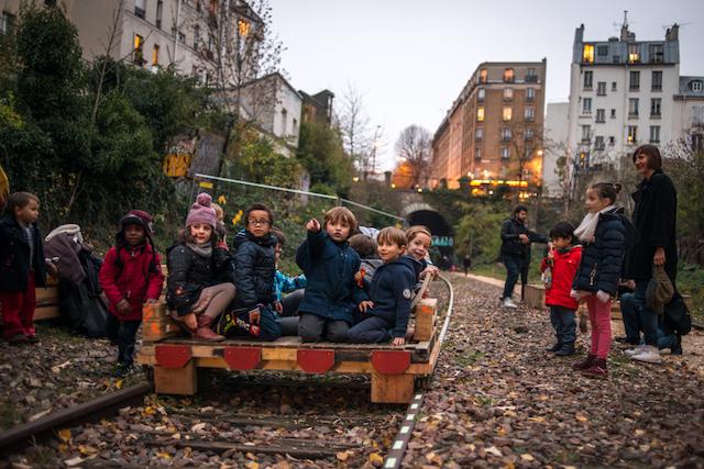 La petite ceinture à Paris / © Jérômine Derigny