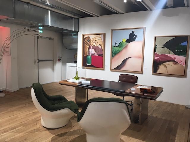 """Exposition """"L'appartement d'un collectionneur"""" à l'Alternatif / © Steve Stillman pour Enlarge your Paris"""