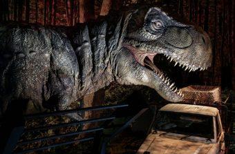 Les dinosaures de Jurassic Park montrent les dents à Saint-Denis