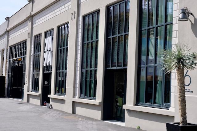La façade du Yaya à Saint-Ouen / © Anaïs Lerma pour Enlarge your Paris