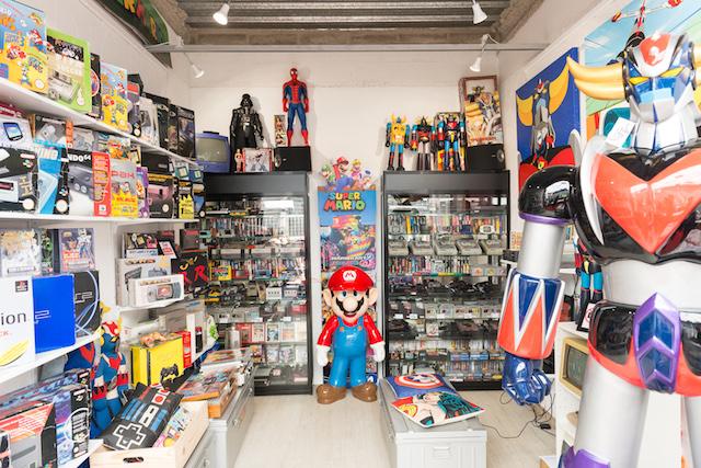 La Vintage Game Room au Marché Dauphine / DR