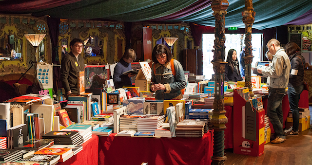 La librairie du festival PULP / DR