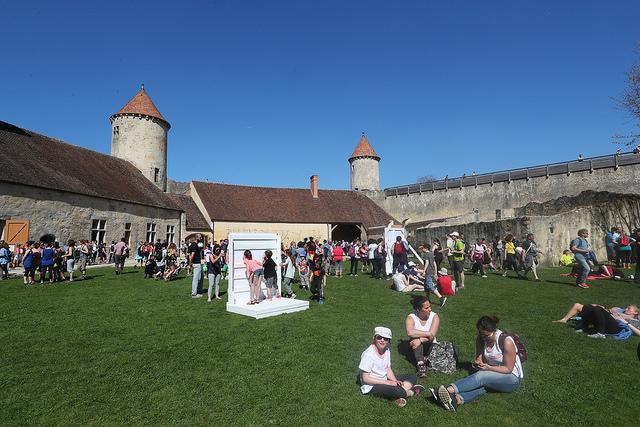 Edition 2017 à la Rando des 3 châteaux / © Département Seine-et-Marne