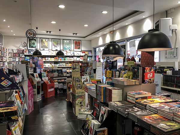 La librairie Storybulle à Montreuil / © Jean-Fabien Leclanche pour Enlarge your Paris