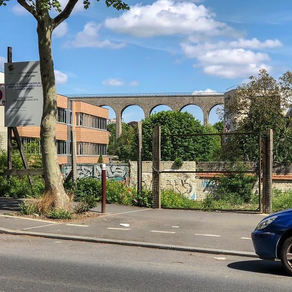 Aqueduc Médicis à Arcueil / © Jean-Fabien Leclanche pour Enlarge your Paris