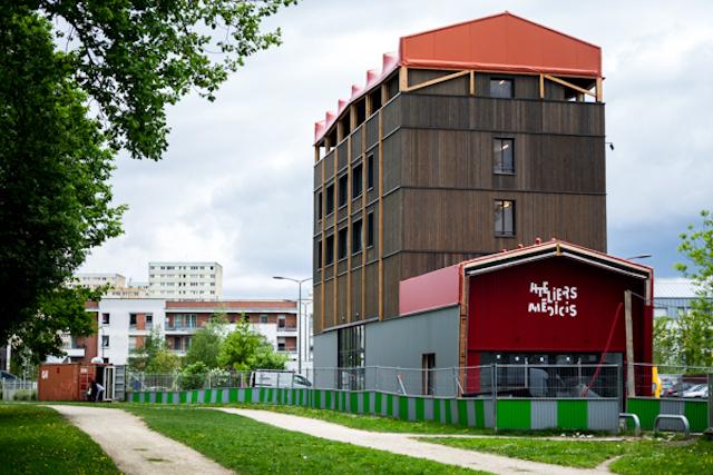 Les Ateliers Médicis à Clichy-Montfermeil / © Jgp