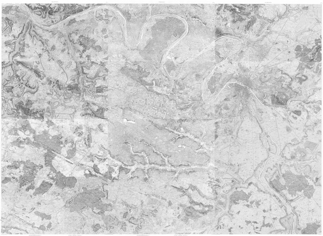 La carte des chasses du Roi / © IAU