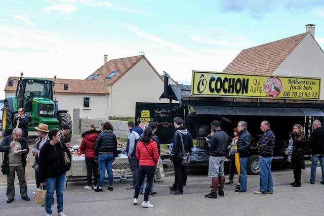 Food truck au festival Tracteur Blues / DR