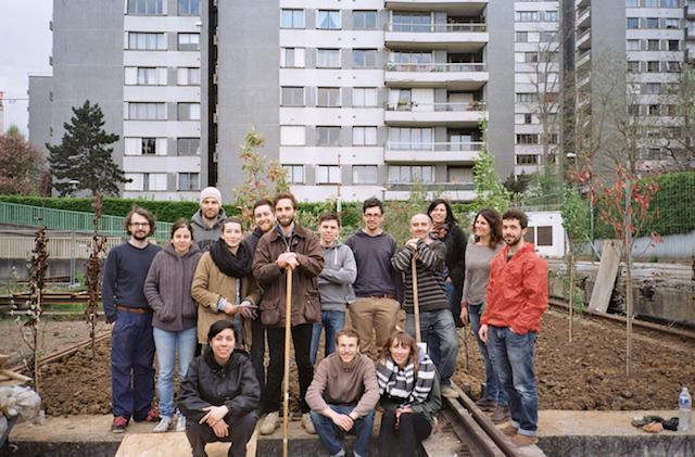 L'équipe de la Sauge (Société d'agriculture urbaine généreuse et engagée) qui sera présente pour Inspirations végétales à Montrouge / DR