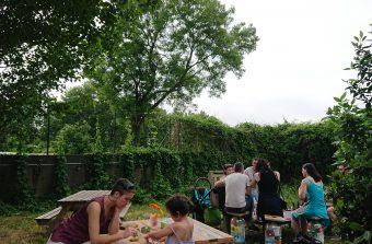 Un biergarten champêtre ouvert tout l'été à Montreuil