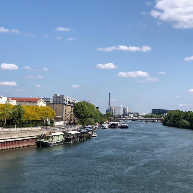 La Seine entre Issy et Boulogne / © Jean-Fabien Leclanche pour Enlarge your Paris