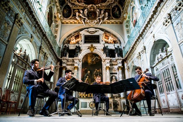 Les Rencontres musicales ProQuartet au château de Fontainebleau / © Noé Termin
