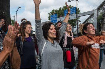 De Paris à Sarcelles, j'ai suivi la 45e étape de la Marche des migrants