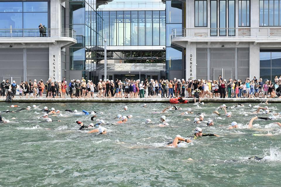 Open Swim Stars dans le canal de l'Ourcq / © F. Foucha