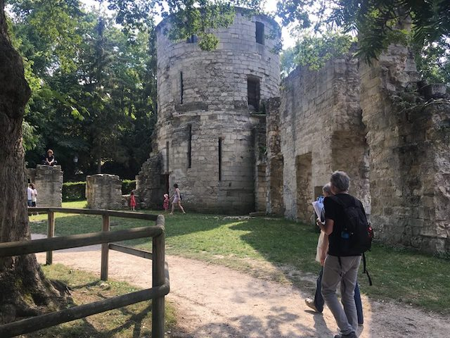 Vestige de l'abbaye de Saint-Maur / DR