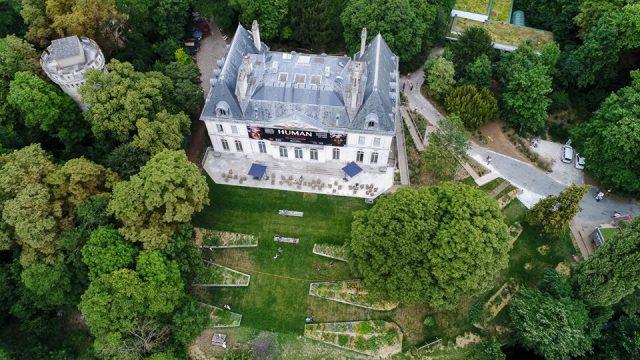 La Fondation GoodPlanet dans le château de Longchamp à Paris / © Fondation GoodPlanet
