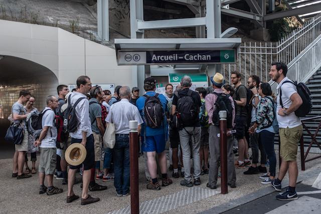 La gare d'Arcueil-Cachan / © Jean-Fabien Leclanche pour Enlarge your Paris